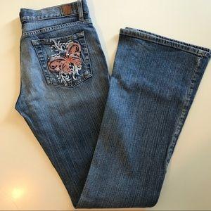 Vintage Guess Flare Denim Jeans